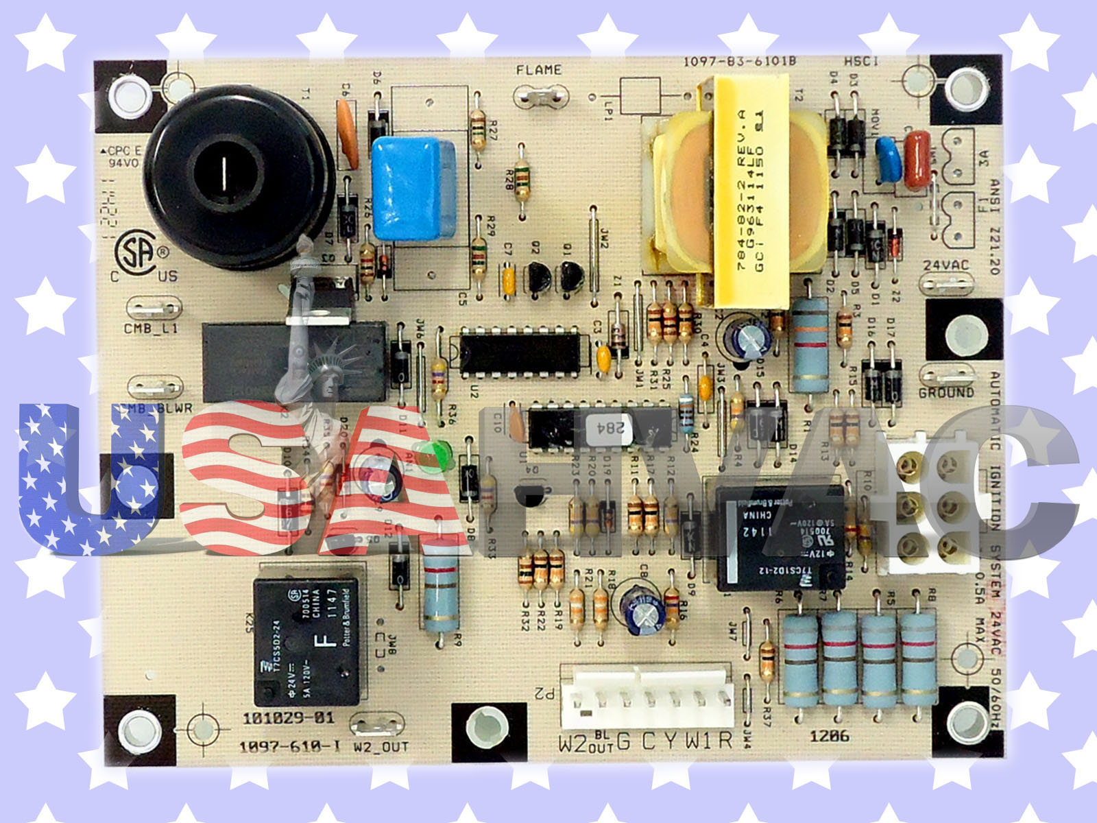 Ducane Armstrong Lennox Furnace Control Board 60m00 60m0001 101029