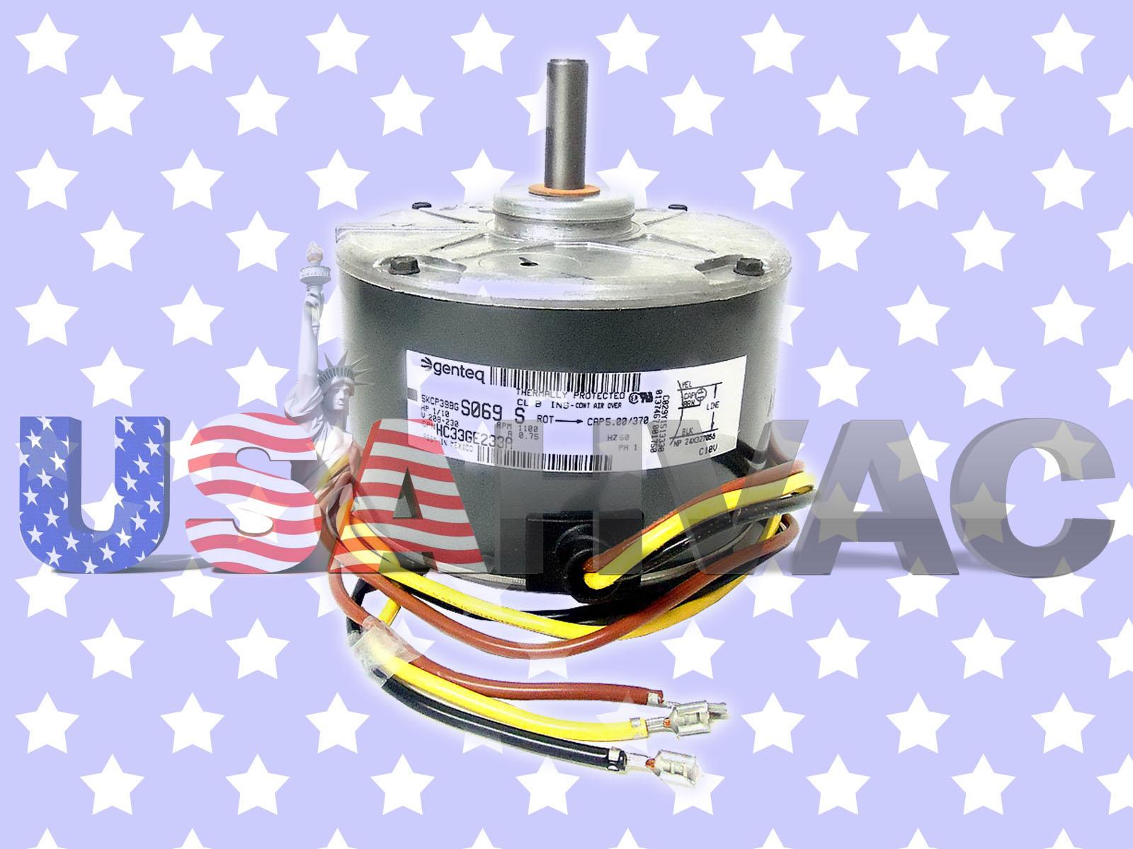Ge Genteq Fan Motor 1 10 Hp 208 230 V 5kcp39bgs457s